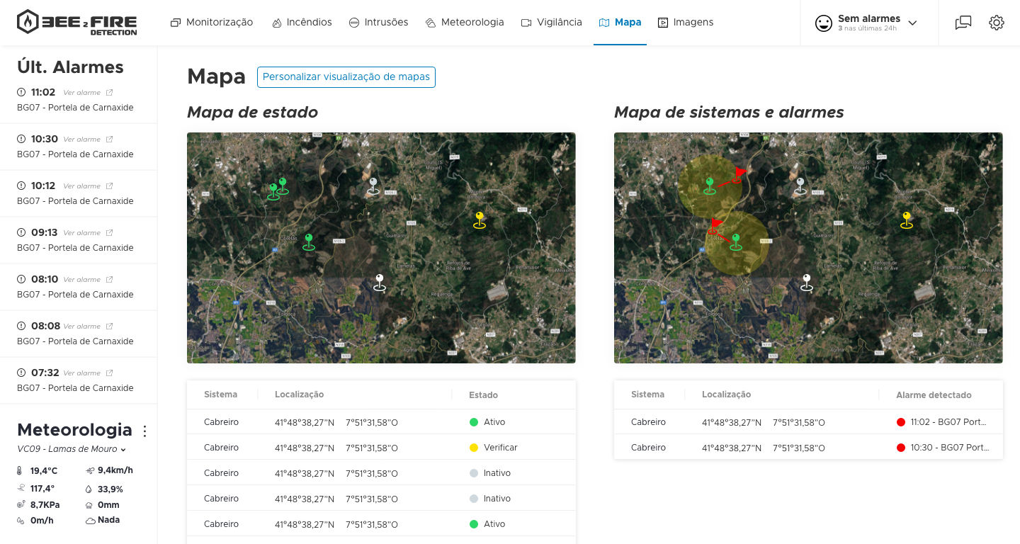 bee2firedetection-situation-map